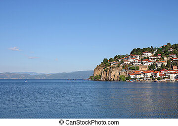 Ohrid lake Macedonia summer season