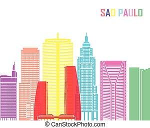 Sao Paulo V2 skyline pop
