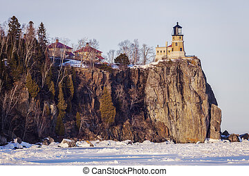 Split Rock Lighthouse. Minnestota, United States.