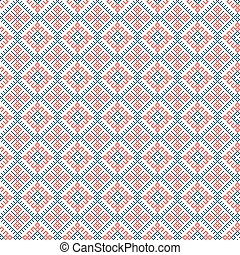 ethnic seamless pattern background, vector illustration...