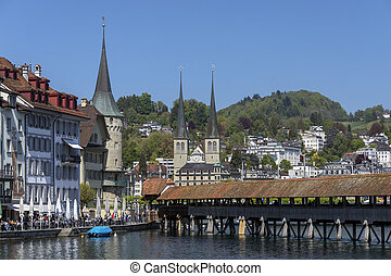 Chapel Bridge - Lucerne - Switzerland