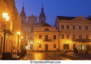 St. Francis Xavery Church in Piotrkow. Piotrkow Trybunalski,...