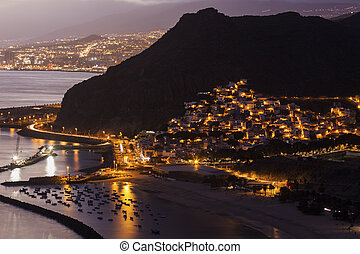 San Andres panorama - San Andres, Santa Cruz de Tenerife....