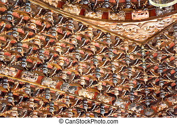 Chinese Temple Ceiling Detail