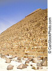 Egyptian Great Pyramid - Image of the Great Pyramid of...