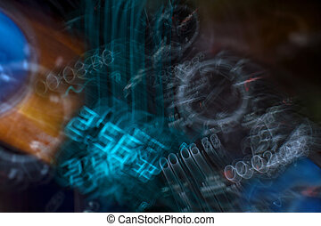 Light Painting Background
