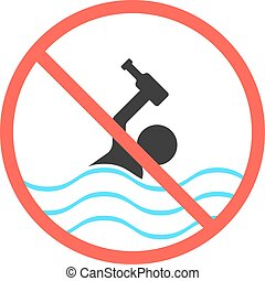 ban on swimming in a drunken state