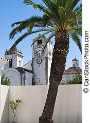 Catolic church in Tavira, Portugal