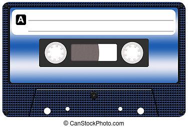 kassett, tejpa