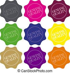Genuine Quality Seals
