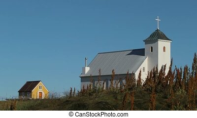 View of the Christian church in Iceland. Andreev. - View of...