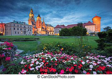 Wawel Castle, Krakow. - Image of Wawel Castle in Krakow,...