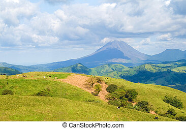 Costa Rica Landscape - Landscape showing Costa Rica...