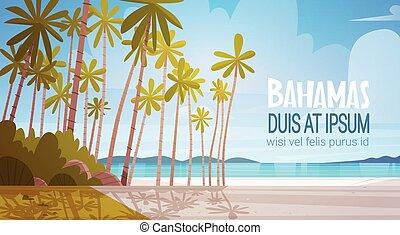 Bahamans Sea Shore Beach Beautiful Seaside Landscape Summer...