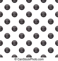 Cover on lens camera pattern seamless repeat in cartoon...