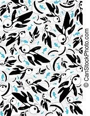 Cute Killer Whale Pattern