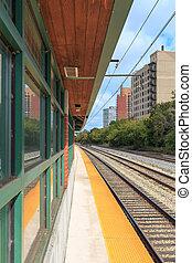 53rd Street Hyde Park Metra - At 53rd Street Hyde Park Metra...
