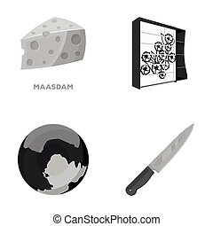 ecology, business, trade and other monochrome icon in cartoon style.appliances, kitchen, tool, icons in set collection.