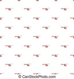 Red helicopter pattern