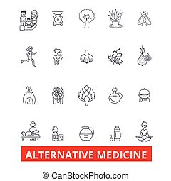 Alternative medicine, healing, therapy, acupuncture, energy,...