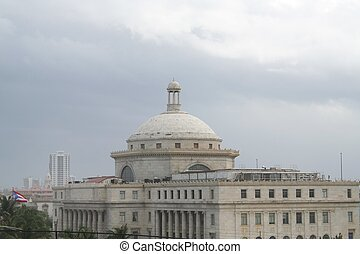 Captial Building in Old San Juan - Capital building rotunda...