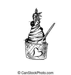 Sketch of Food