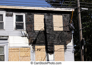 Fire Damaged Townhome
