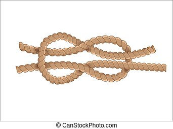 Nautical rope knot