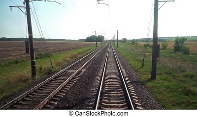 Forward Movement by Railway in Summer