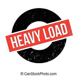 Heavy Load rubber stamp