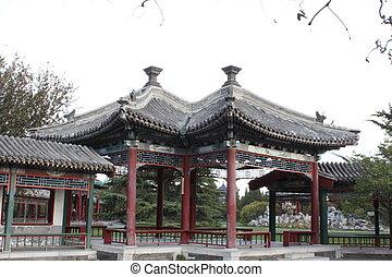 fangsheng, Pavilhão