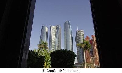 Architecture, Abu Dhabi.skyscrapers - Architecture, Abu...