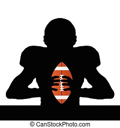 rugby player silhouette illustration