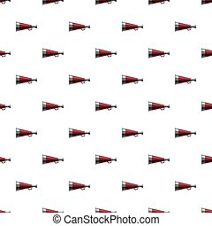 Mouthpiece pattern seamless repeat in cartoon style vector...