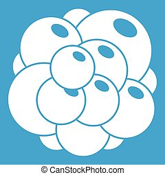 Ovary icon white