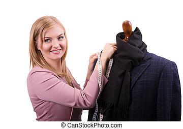 Freelancer - Fashion designer or Tailor working on a design...