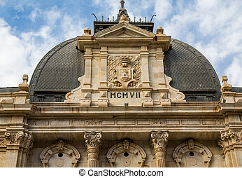Dome of Cartegena Building from 1907