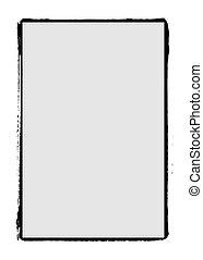 Grunge film frame edge / border