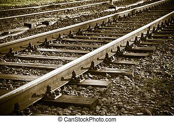 A Railroad track