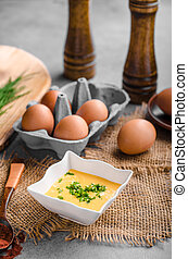 Hollandaise sauce product photo, ready for your advertisment