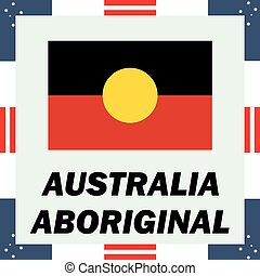 Official government elements of Australia - Aboriginal flag