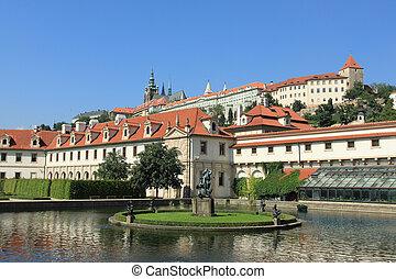 Praha - Valdstejnska Zahrada - Senate of Czech Republic in...