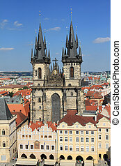 Praha - Church of Our Lady in front of Tyn, Prague, Czechia