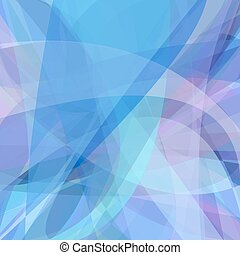 Dynamic blue abstract background