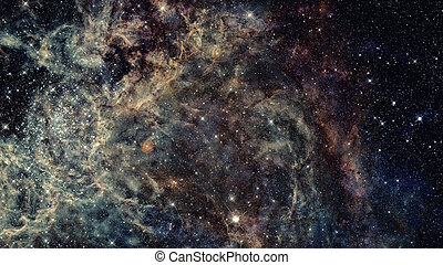 Dreamscape Galaxy. Elements of this Image Furnished by NASA...