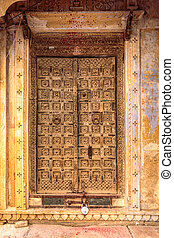 Jaisalmer antique door - Jaisalmer india antique door at...