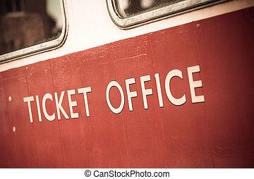 切符, オフィス