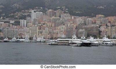 Port Hercule Monaco - Monaco Port With Luxury Yachts