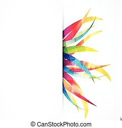 Business abstract wave corporate background.