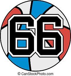 66 basket - Creative design of 66 basket